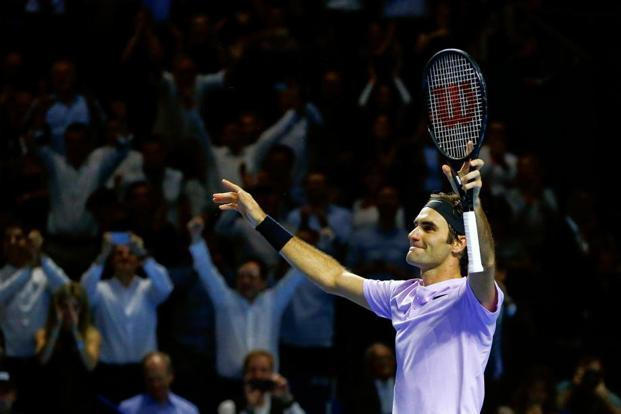 Roger Federer has won seven titles this year—the last time he got so many (8) was in 2007. Photo: Reuters