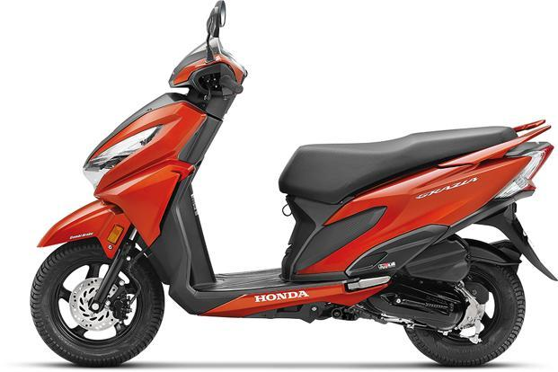 The Honda Grazia is priced just Rs400 above the 125-cc Honda Activa at Rs57,897 (ex-showroom Delhi) and comes with a host of industry first features.