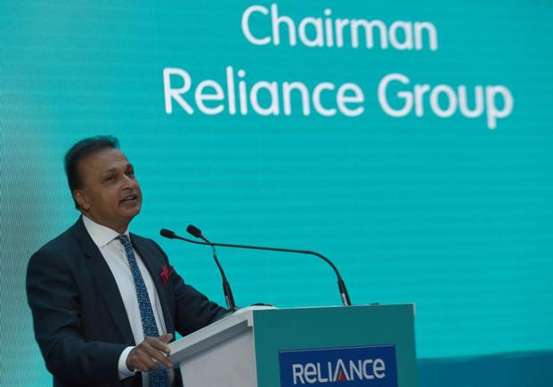 Reliance Group chairman Anil Ambani. Reliance Communications is saddled with Rs44,300 crore of debt. Photo: AFP