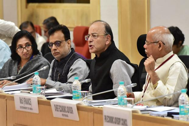 File photo. The GST Council on Thursday kicked off its two-day meet in Guwahati. Photo: PTI
