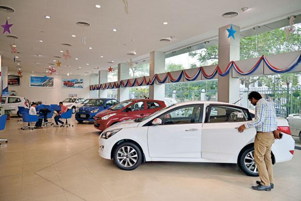 The Siam report says vehicle sales across categories registered a decline of 1.79% to 21,62,164 units, from 22,01,489 units in October 2016. Photo: Mint