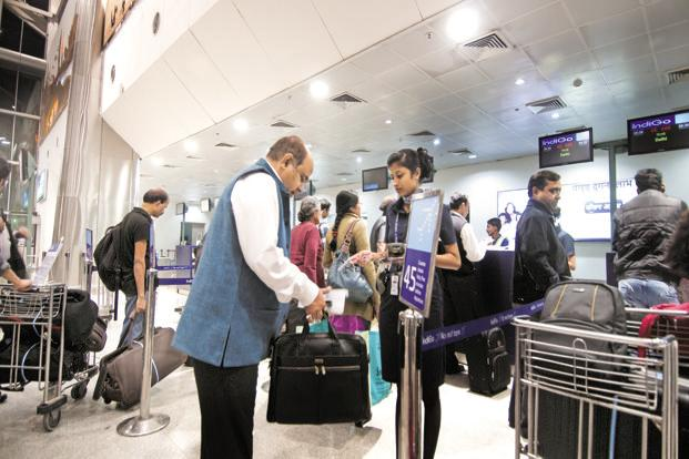 In such a situation, in the interest of domestic and international fliers, shouldn't we create a separate airport for very important people? Photo: Mint