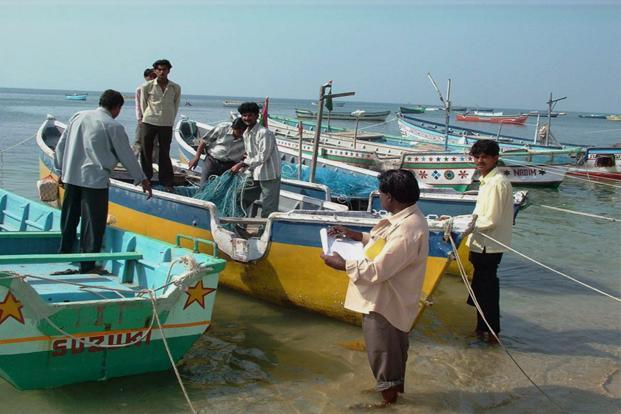 Given the sensitive nature of the area, even Indian fishermen are barred from fishing in the creek. Photo: PTI