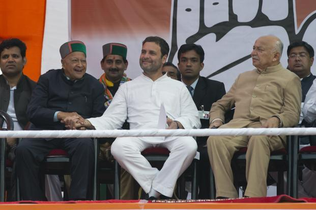 Congress leaders, particularly Rahul Gandhi, have made the GST and demonetisation as key issues of their election campaign. Photo: AP