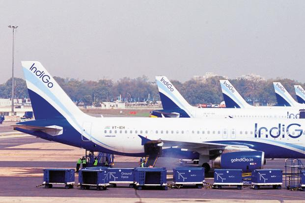 IndiGo has claimed that the mishap happened due to crack in the floor at the airport even as the Airports Authority of India (AAI) has said it all happened because of 'gross negligence of IndiGo staff'. Photo: Ramesh Pathania/Mint