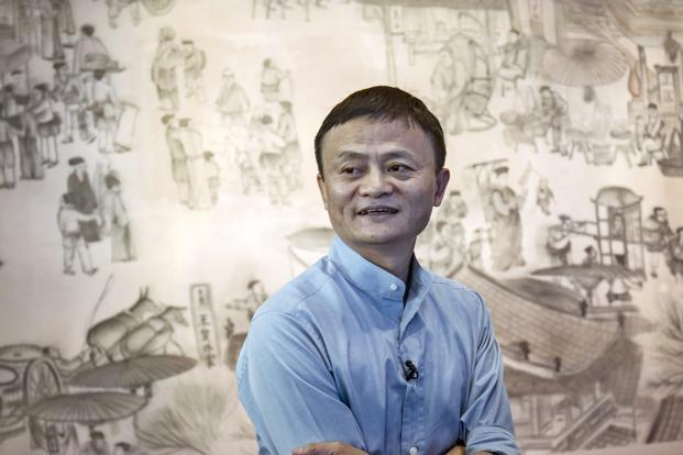 Alibaba founder Jack Ma. An investment in BigBasket would help Alibaba add more muscle to take on Amazon. Photo: Bloomberg