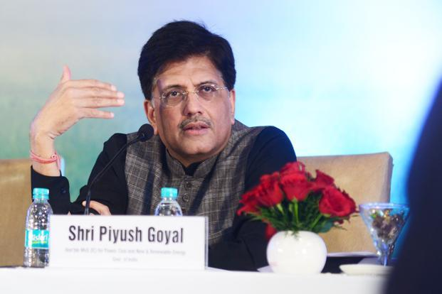 Railway minister Piyush Goyal. The tenders for railway electrification will be issued under the engineering, procurement and construction (EPC) model. Photo: Ramesh Pathania/Mint