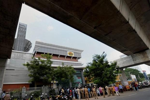 The tax raids under 'Operation Clean Money' targeted shell firms belonging to 10 groups, including those run by members of Sasikala's family and associates. Photo: PTI