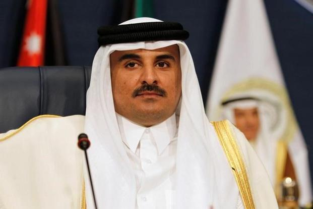 Qatari emir vows won't bow to demands by Saudi-led bloc