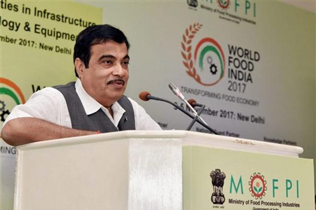 Roads minister Nitin Gadkari. The Delhi-Meerut Expressway is India's first 14-lane highway that includes 2.5 metre cycle track. Photo: PTI