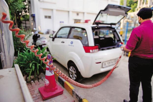 The conversation surrounding electric vehicles in India has been around electric vehicles, so the primary issues arise on account of electricity generation and charging infrastructure. Photo: Pradeep Gaur/Mint