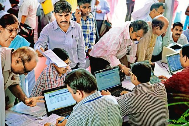 GSTN has come out with form REG-09 for registration of non-resident taxable persons who engage in supply of goods or services occasionally, but have no fixed place of business in India. Photo: Pradeep Gaur/Mint