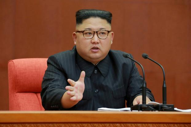 Since becoming president, Donald Trump has engaged in an escalating war of words with North Korean leader Kim Jong-Un, trading personal insults and threats of military strikes and raising concerns about an outbreak of hostilities. Photo: Reuters