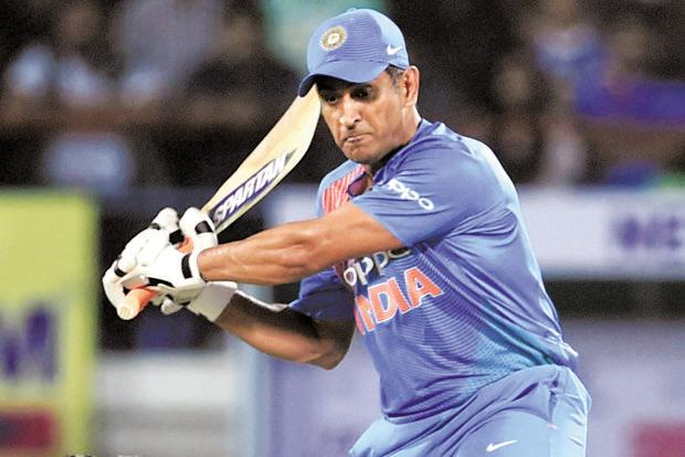 M.S. Dhoni's future in the Indian team is being debated. Photo: PTI