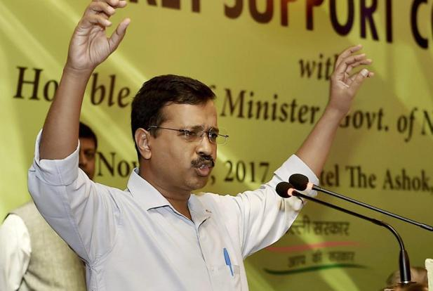 The Arvind Kejriwal-led party has said more candidates may be declared in the coming days even though it may not be contesting on all the 182 seats in Gujarat. Photo: PTI
