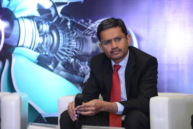TCS CEO Rajesh Gopinathan says it is in the DNA of the company to develop in-house leadership. Photo: Hemant Mishra/Mint