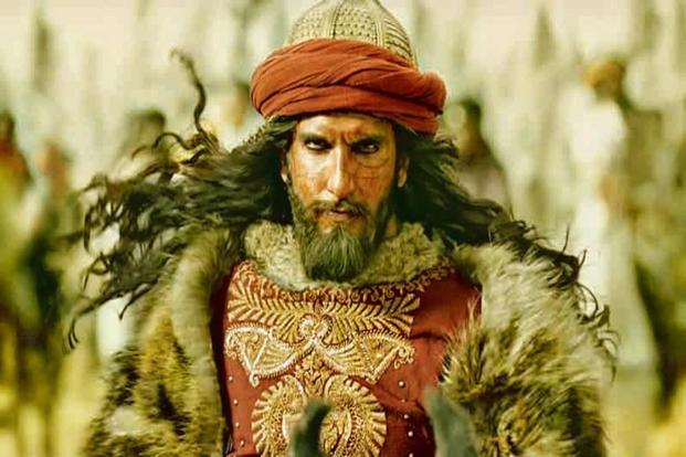Ranveer Singh as Khilji in the forthcoming film 'Padmavati'.