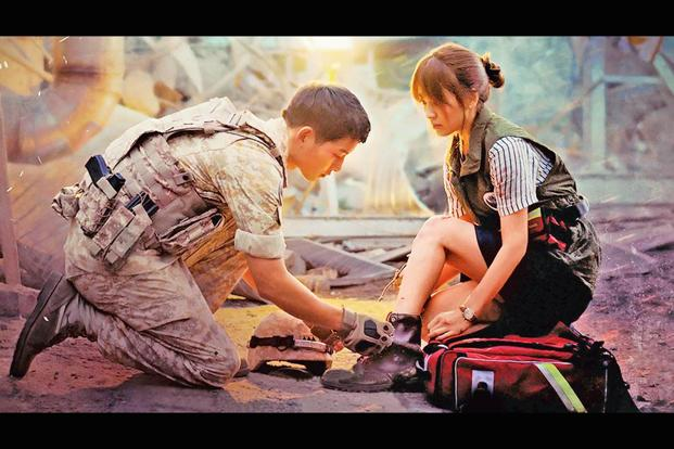 A still from 'Descendants Of The Sun'.
