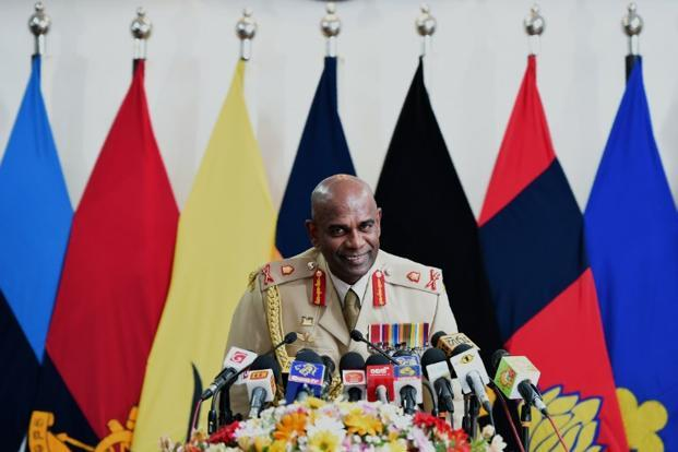 The Jaffna High Court has asked Army chief Lieutenant General Mahesh Senanayake along with two other state officials to appear in court on Saturday. Photo: AFP