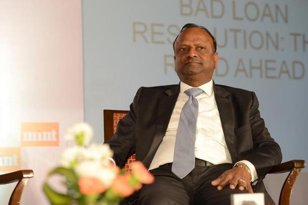 SBI chairman Rajnish Kumar says that by January, resolution plans for some of the 12 accounts referred for insolvency at NCLT should be in place as the six-month period ends. Photo: Mint