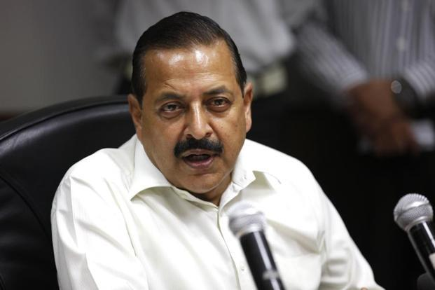 Union minister Jitendra Singh says the recent successes achieved against terrorists in Jammu and Kashmir was the result of the free hand given to the army to wipe out militancy in the state. Photo: HT