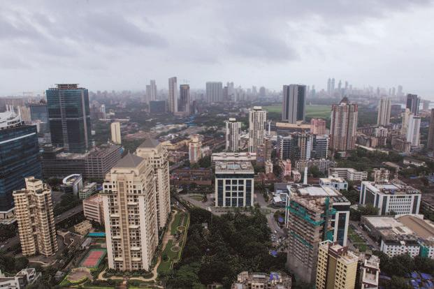 Analysts believe that if credit growth to the real estate sector has slackened due to RERA, GST has increased the final tax outflow. Photo: Aniruddha Chowdhury/Mint