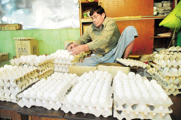 The prices would continue to rise in coming months as egg production is likely to be lower by 25-30% this year. Photo: Mint