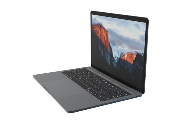 Apple Macbook Pro 15 comes with a bigger trackpad and a touchscreen called touchbar, placed right above the keyboard, which provides quick access to system controls, emojis in mail and messages, and editing tools in Pages or Keynote.