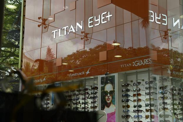 Titan is also planning to experiment with a new luxury eyewear store format in specific catchments. Photo: Hemant Mishra/Mint