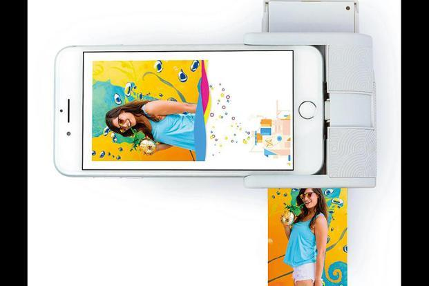 The Prynt Pocket gives 2x3 inches  photo prints.
