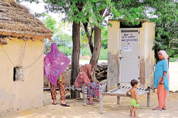 The WaterAid report said that 56% of people in India lack access to safe sanitation. Photo: Mint