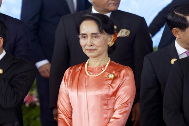 Aung San Suu Kyi said Myanmar would follow the framework of an agreement reached in the 1990s to cover the earlier repatriation of Rohingya. Photo: AP