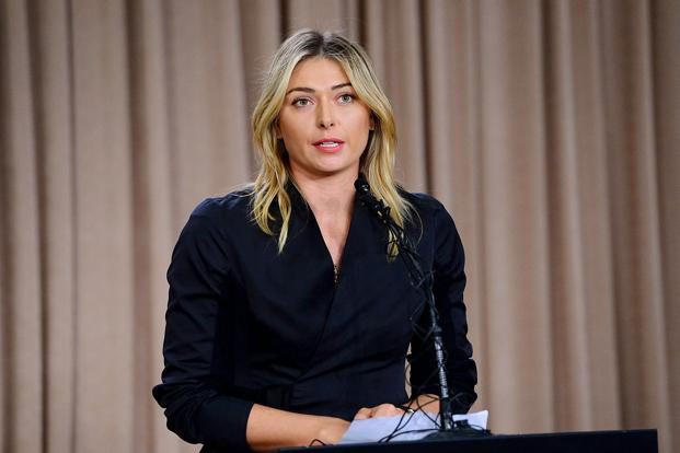 Maria Sharapova travelled to India in 2012 to launch the luxury high-rise apartment complex, named Ballet by Sharapova. Photo: USA Today