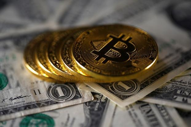 Bitcoin, which has huge price swings, rose to a new high above $8,000 on Monday. Photo: Reuters