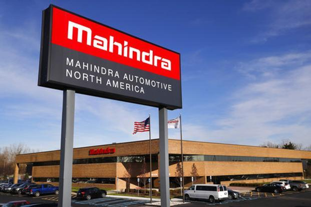 The Mahindra plant which is expected to roll out its first off-loader most probably in January is being built by Detroit and State of Michigan in a sign of revival of economic fortunes of the car capital of the world. Photo: AP