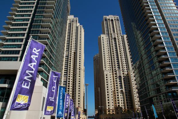 Emaar Development dropped as much as 7.1% once trading started on Wednesday, before paring losses. Photo: Bloomberg