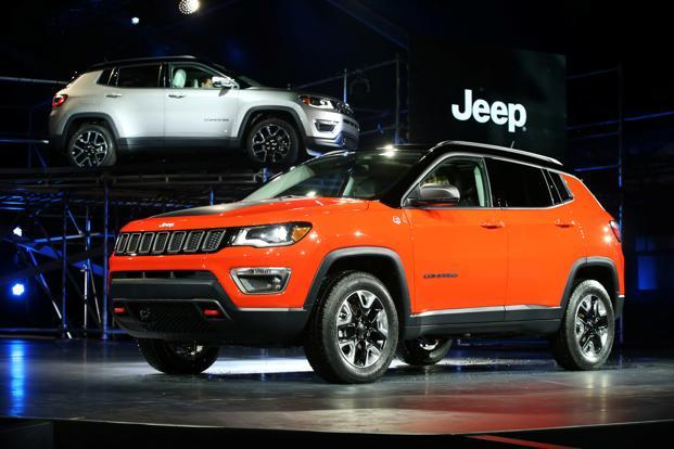 Fiat Chrysler launched the Jeep Compass in India in July and the SUV, despite being on the higher end of the price chart, has generated a strong response from customers. Photo: Reuters