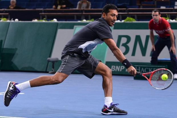 Under the India's non-playing captain Mahesh Bhupathi, the focus has reverted to singles matches for Davis Cup tournaments. Photo: AFP