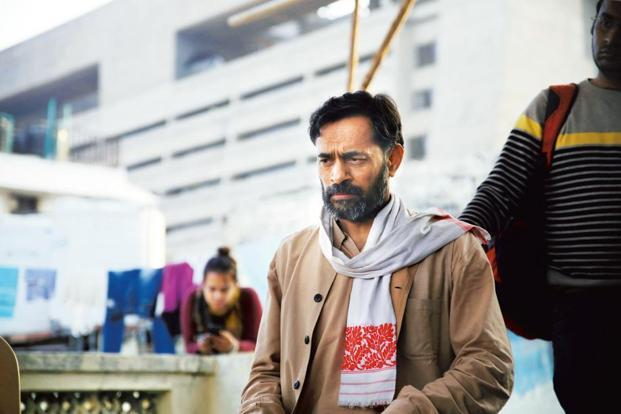 Yogendra Yadav in 'An Insignificant Man'.