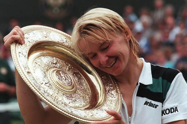 Jana Novotna's story is one of persistence and self-belief. Photo: AFP
