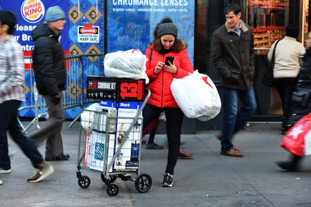 Cyber Monday is expected to drive $6.6 billion in internet sales, which would make it the largest U.S. online shopping day in history. Photo: AFP