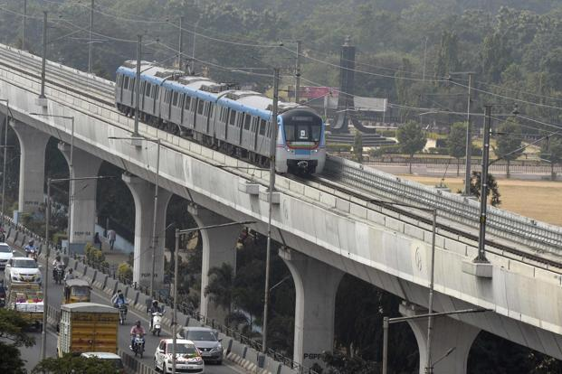 Nine Rapid Transit Metro Rail Projects in Indian Cities