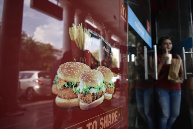 Westlife Development, which owns the master franchise rights for McDonald's outlets in west and south India, through its unit Hardcastle Restaurants, has seen a 25% increase in revenue in the last four years. Photo: HT