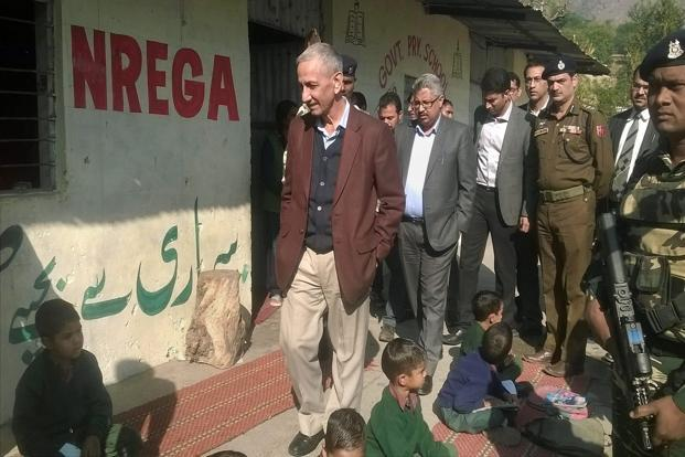 Sharma visits Pandit camps in Jammu