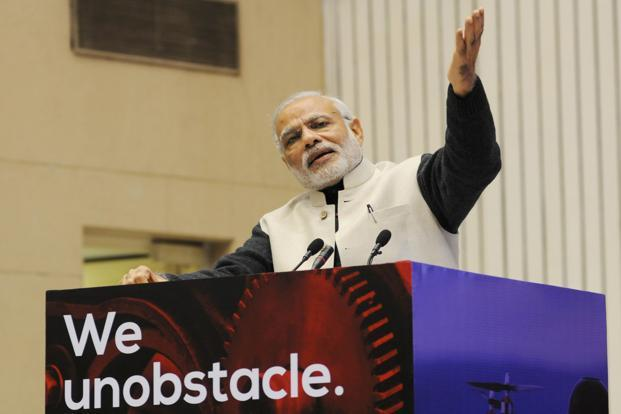 PM Narendra Modi. While India may have climbed 30 places in World Bank's ease of doing business index, there is still a long way to go for India's business environment to become genuinely simple. Photo: AFP