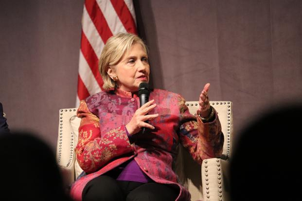 US former secretary of state Hillary Clinton said that Xi Jinping's consolidation of power creates anxieties about a more assertive Beijing. Photo: AP