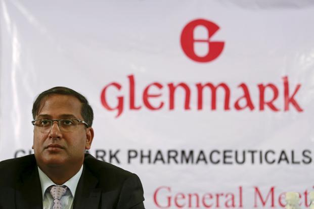 Glenn Saldanha, chairman and CEO of Glenmark Pharmaceuticals Ltd. Shares of Glenmark closed 3.3% down at Rs571.80 on BSE, while benchmark Sensex index ended at 33,618.59 points, down 0.3% from Monday's close. Photo: Reuters