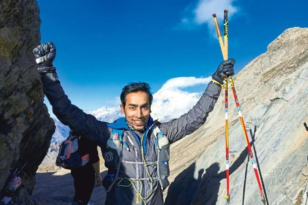 Ashok Daniel completed the 330km Tor des Géants trail in September. Photo courtesy Ashok Daniel
