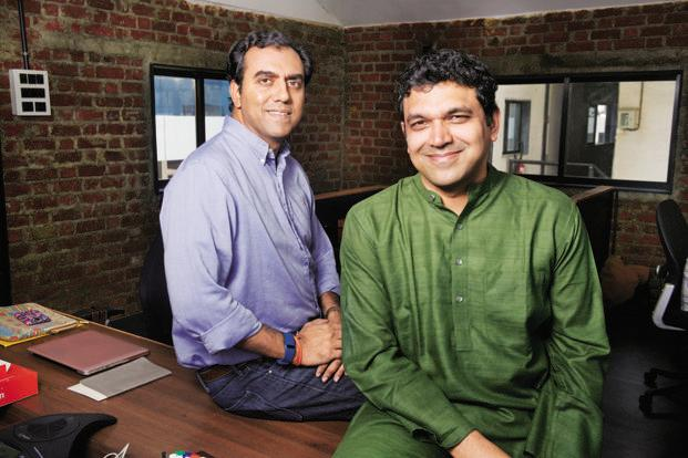 Sanjay Nath and Karthik Reddy, founders of Blume Ventures. Photo: Abhijit Bhatlekar/Mint
