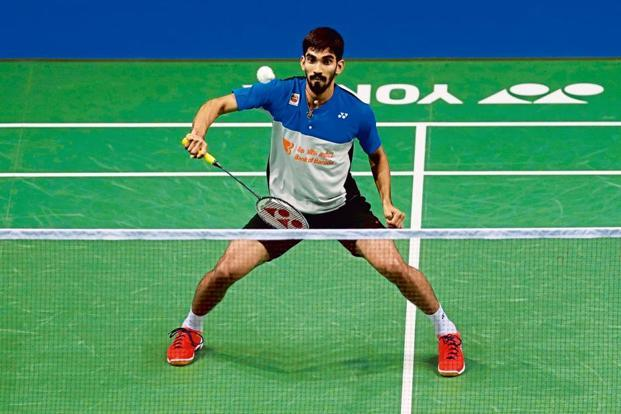 K. Srikanth has won four Superseries titles this year. Photo: Reuters
